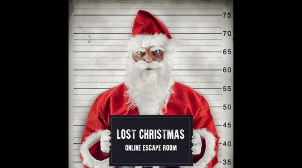 Als Weihnachtsmann verkleideter Verbrecher